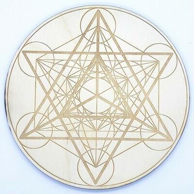 Metatron Wooden Grid