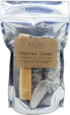 Crystal Clear Smudge Variety Pack