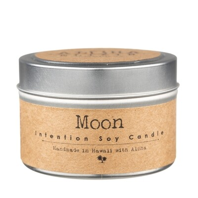 Moon Soy  Intention Candle