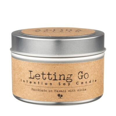 Letting Go Soy Intention Candle 4
