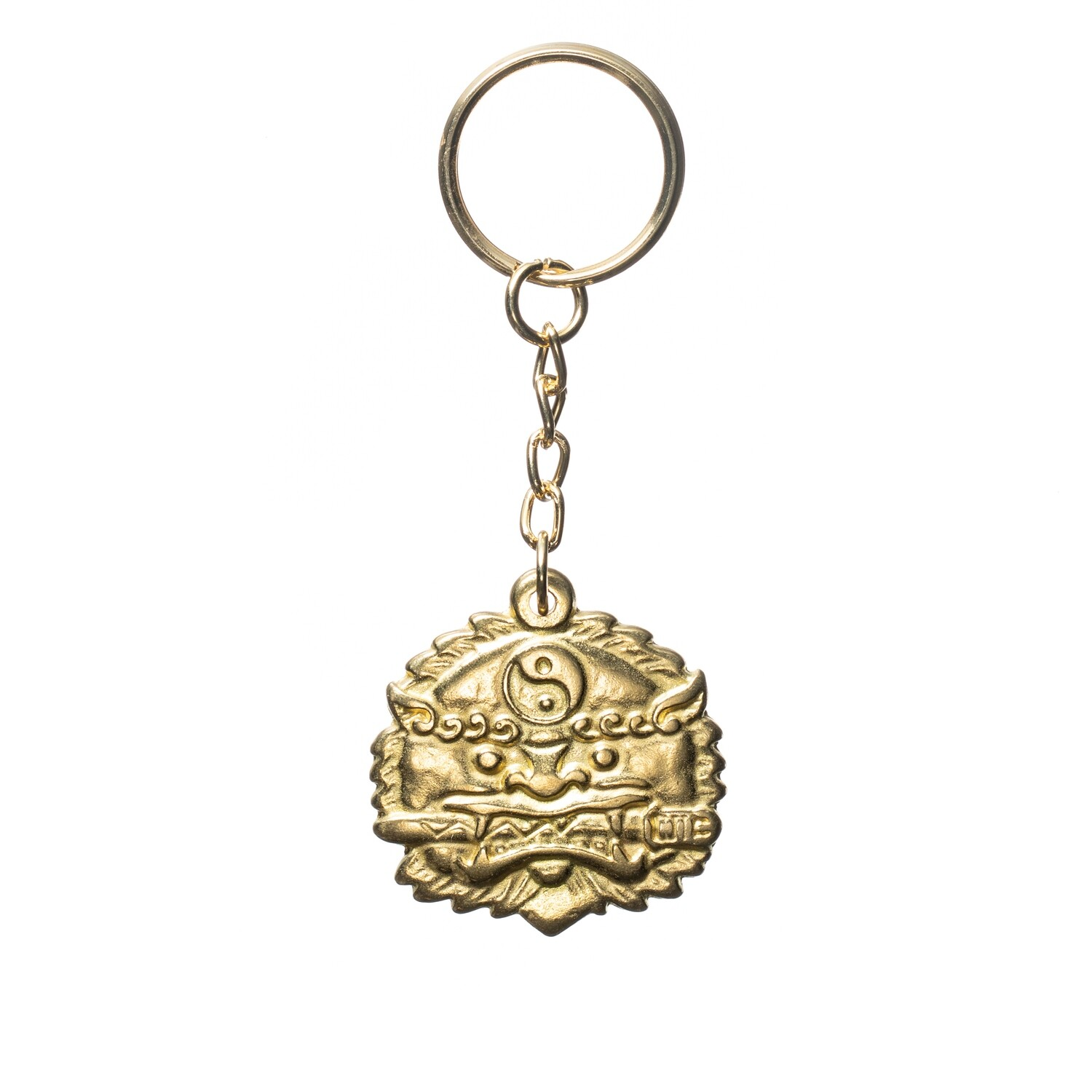 Lion with a Sword Key Chain