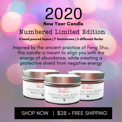2020 Limited Edition New Year Candle