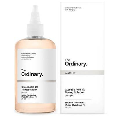 Glycolic Acid 7% Toning solution THE ORDINARY