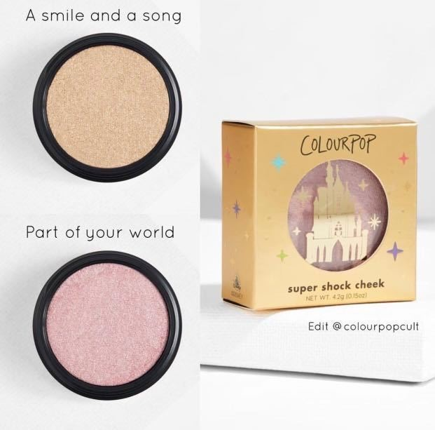 Iluminadores Disney x COLOURPOP
