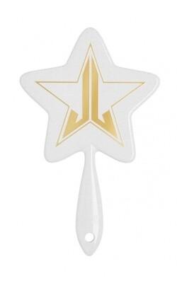 White Glitter Hand Mirror JEFFREE STAR