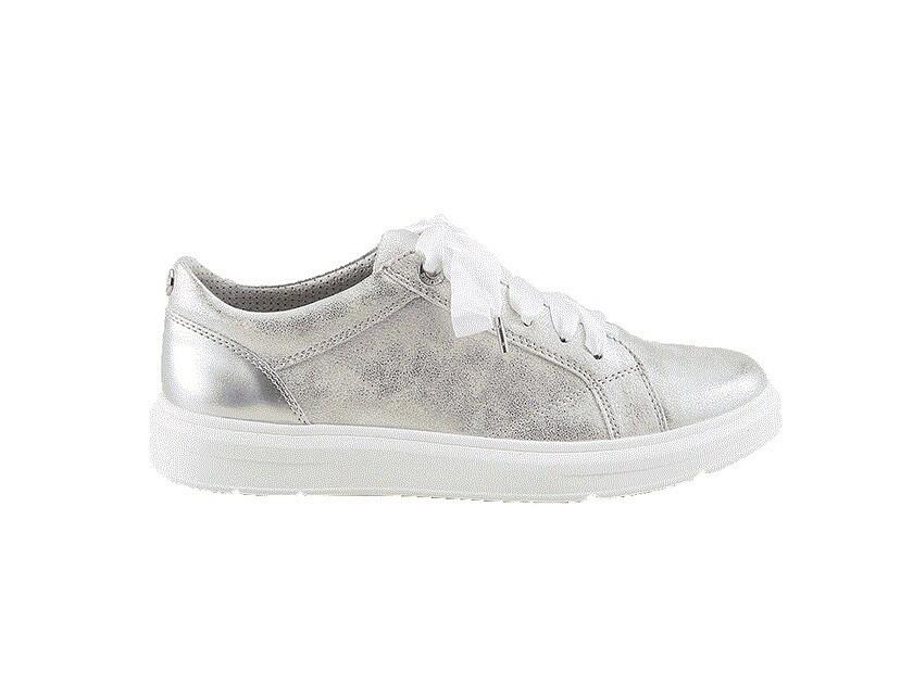 s.Oliver zilver dames sneakers