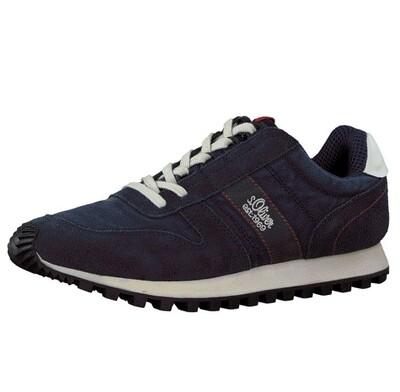 s.Oliver heren sneakers navy