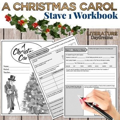 Christmas Carol Chapter 1 Workbook