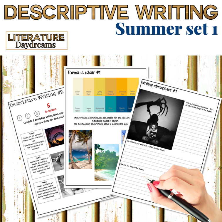 Descriptive Writing Prompts for Summer