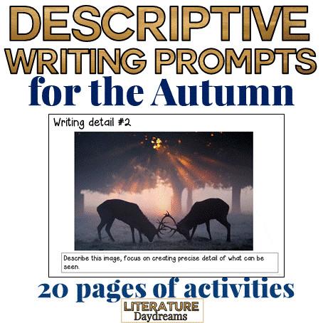 Autumn Descriptive Writing Prompts