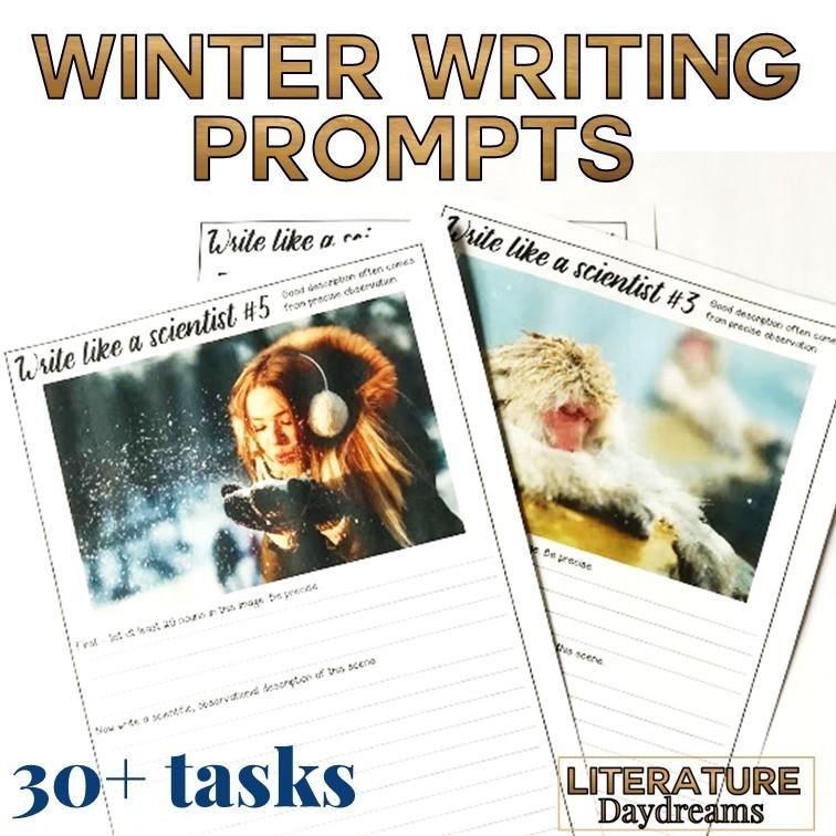 Winter Descriptive Writing Prompts