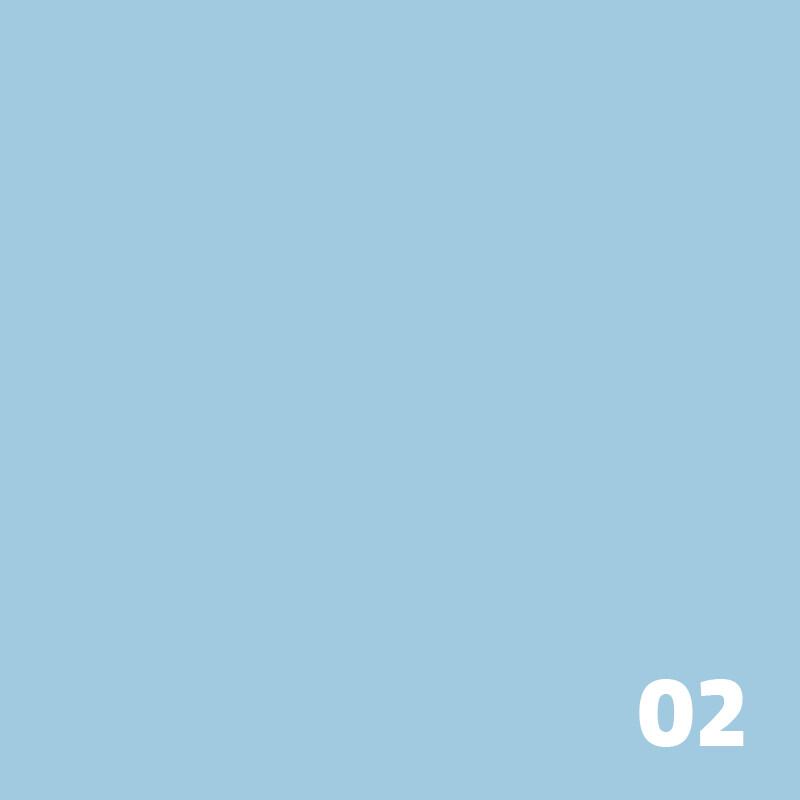 SUPERIOR Seamless Paper 2.7m - Sky Blue