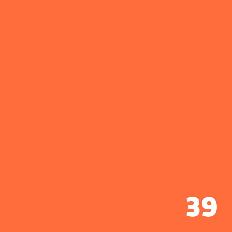 SUPERIOR Seamless Paper 2.7m - Bright Orange
