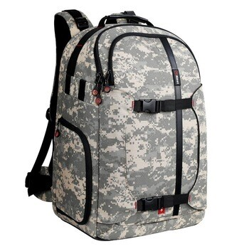 NEST high quality Hiker 200 camo camera bag camo backpack
