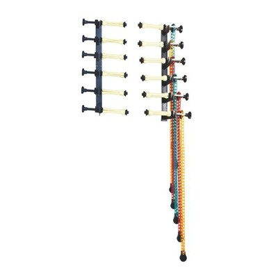 Lightbug 6-rollers Manual Chain Background Support Kit