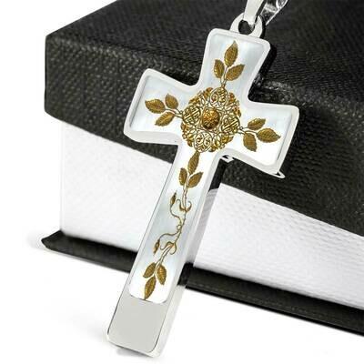 Custom Cross Necklace -  Design Service