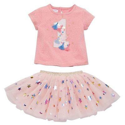 1st Birthday Skirt Set
