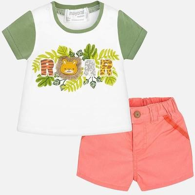 Roar Shorts Set 1219 2/4m