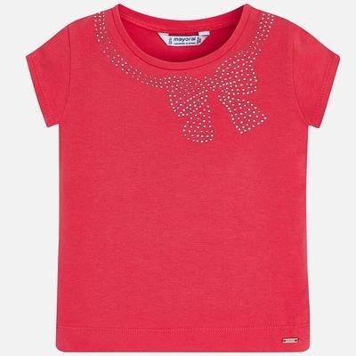 Bow T-Shirt 174Coral - 5