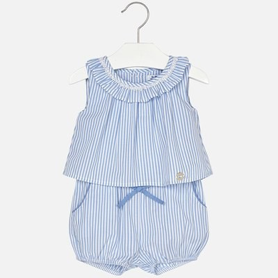 Striped Romper 1884 6m