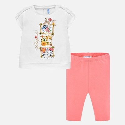 Animal Leggings Set 1747 24m