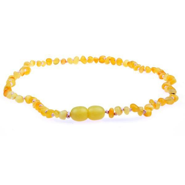 Raw Milk Amber Necklace