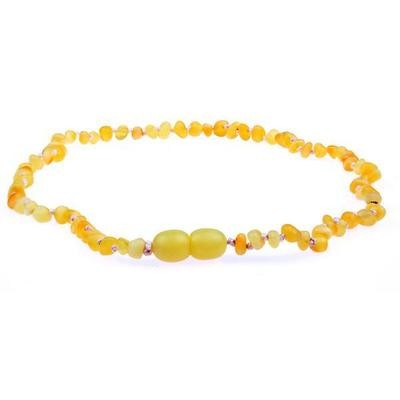 Amber Necklace - Milk Raw Unpolished
