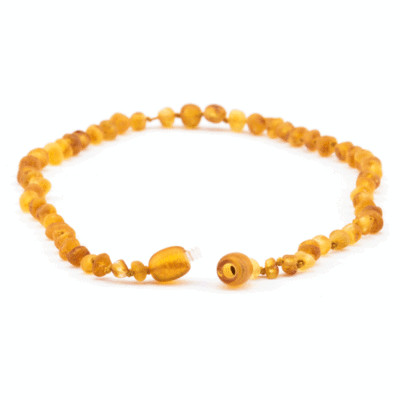 Amber Necklace - Honey Raw Unpolished
