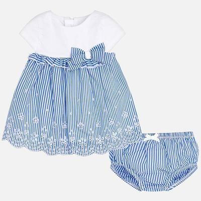 Stripe Dress 1837 4/6m
