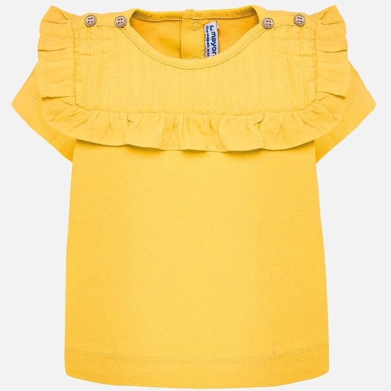 Yellow Pleated Shirt 1013 18m