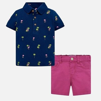 Polo Shorts Set 1254 12m