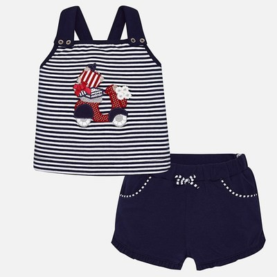 Navy Shorts Set 1250 6m