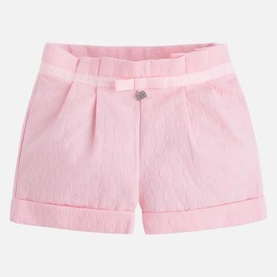 Pink Jacquard Shorts 3214R 2