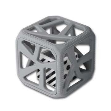 Dark Gray Chew Cube