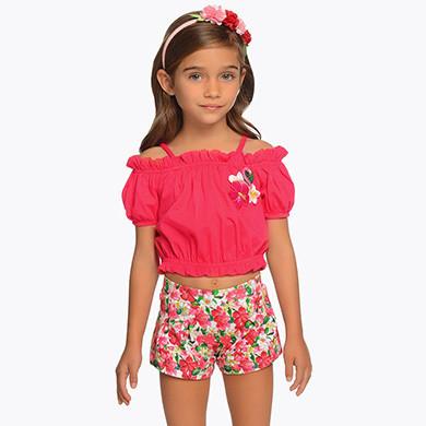 Flamingo Shorts Set 3217 - 8