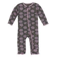 Afr. Violets Coverall 12/18m