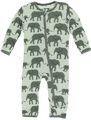 Aloe Elephants Coverall 6/9m