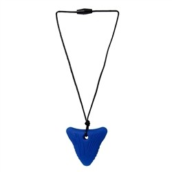 Blue Shark Tooth Pendant