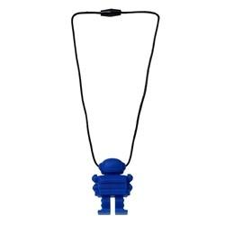 Space Man Pendant- Blue