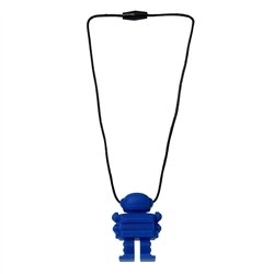 Space Man Pendant- Blue
