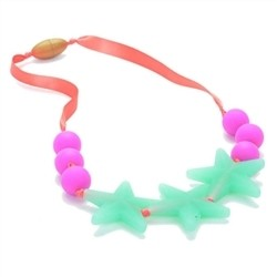 Glow in the Dark Necklace - Spearmint