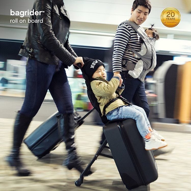Bagrider Child Ride-on Suitcase