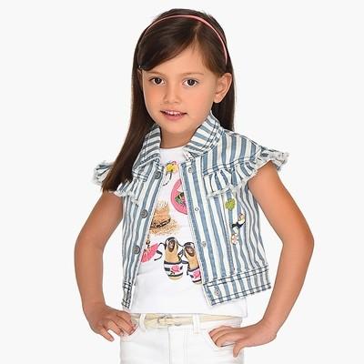 Striped Vest 3305 - 6