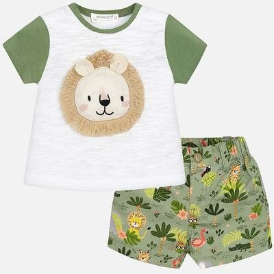 Lion Shorts Set 1220 4/6m