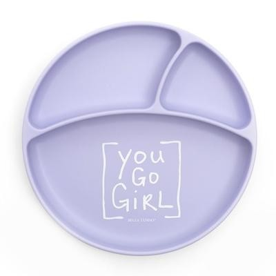 You Go Girl Plate
