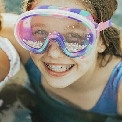 Sandy Toes  Swim Goggles