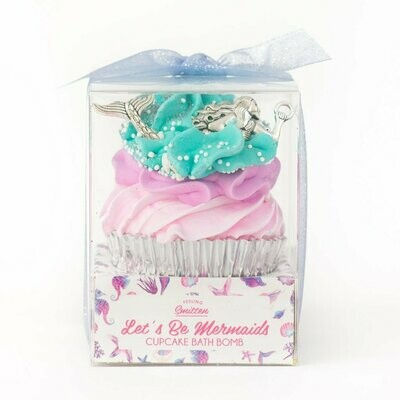 Mermaid Cupcake Bath Bomb