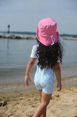 Pink Bucket Hat - L
