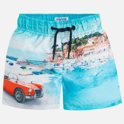 Beach Print Swimsuit 3626 - 6