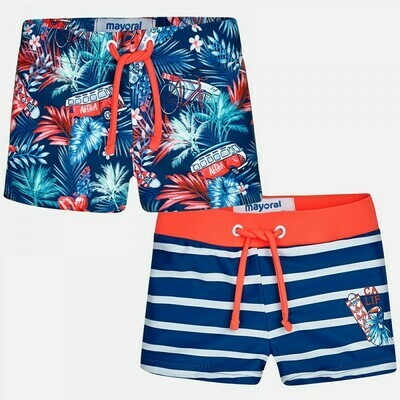 Tropical Print Swimsuit Set 1699 6m